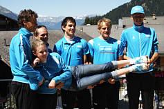 Tine Schrader und das Team Milram bei der Tour de France